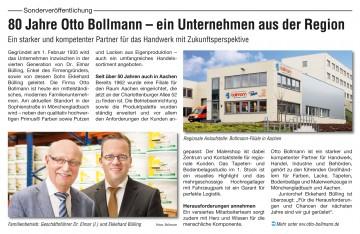 Handwerkswirtschaft Aachen Ausgabe Februar 2015