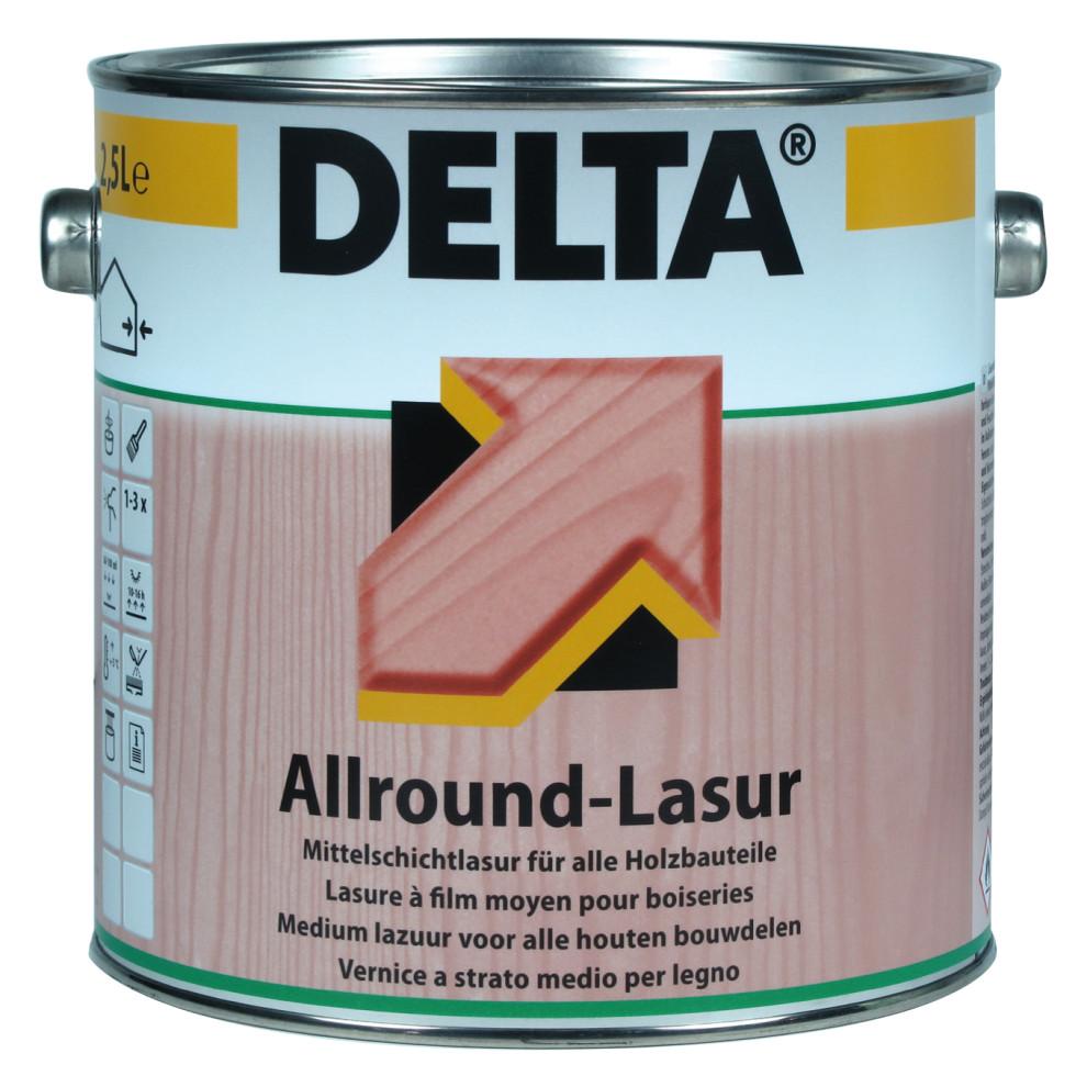 neu im programm delta allround lasur otto bollmann gmbh co kg malerbedarf rundum. Black Bedroom Furniture Sets. Home Design Ideas
