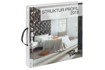 Tapetenkollektion Struktur Profil 2018