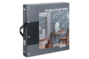 Tapetenkollektion Struktur Profil 2023
